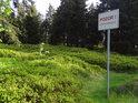 Borůvčí hranic nezná, ale lidem je třeba naznačit, že za cedulí je jiný stát.