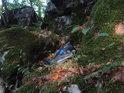 Pytel s odpadky v chráněném území? Je to smutné, ale je to tak.
