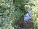 Říčka je název potoka, který teče přes Šlapanice a pod chráněným územím Andělka a Čertovka.