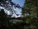 Jižní cíp rybníka Bažantula.