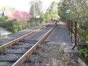 Železniční mostek ve Slatině nad Zdobnicí.