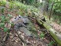 Souška leží jakoby na pěšině uprostřed Číčovického Kamýku.