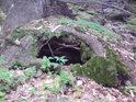 Pod kořeny najdeme noru nějaké lesní šelmy.