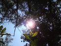 Na krásné Slunce se můžeme přijít podívat i sem do místa jinak ne příliš atraktivního.