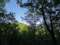 Jižní strana Holého kopce, tak, jak je vidět od Maršavy.