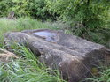 Kamenná miska pod vrcholem Holého kopce.