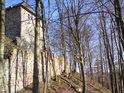 Jiřík z Poděbrad hrad Litice zásadně přestavěl.