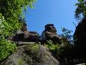 Skalní hrad Rotštejn.
