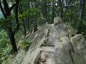 Na vrcholu Komínků.