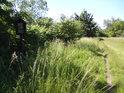 Jihozápadní cíp chráněného území.