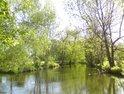 Malá voda je kopaný kanál po pravém břehu řeky Moravy.