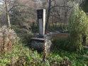 Pomník nešťastné události 25.9. 1951 na břehu Svitavy.