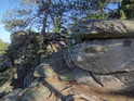 Perníčky je takový vhodný název pro tento tvar skal.