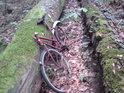 Můžeme jen domýšlet příběh, který předcházel, rozhodně však nebylo možné přijet až sem na kole.