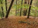 V jižní části Modlivého dolu na podzim.