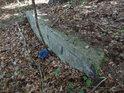 Vyústění odpadu do lesa se dá považovat za přijatelné.