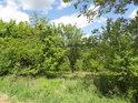 Západní hranice chráněného území Ochozy.