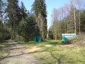 Oběma cestami od rybníka Pětinoha se lze dostat do Horního jelení.