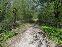 Jižní hranice chráněného území Rezavka.