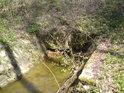 Výtok z pod rybníka Datlík.