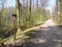 Hráz rybníka Cikán tvoří východní hranici přírodní památky Roudnička a Datlík.