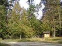 Křižovatka se Sítovkou a spousta lesních cest.