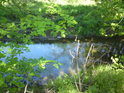 Lidí se sem mnoho nedostane, ale voda přinese kdejaké svinstvo, od lidí pocházející.