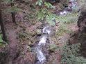 Bučinský potok nad soutokem se Stříbrným potokem.